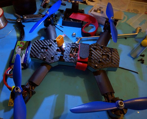 Designing and 3D Printing a ZMR250 Quadcopter Spacer